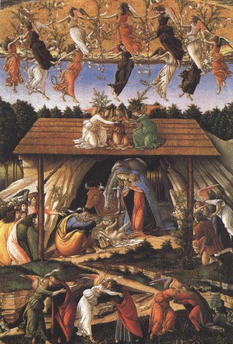 Sandro Botticelli Details of Mystic Nativity (mk36)